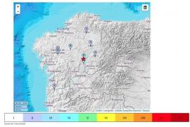 Localizado un seísmo de 4,1 grados en la localidad de Monterroso, en Lugo