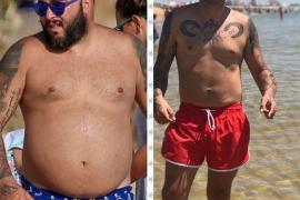 Kiko Rivera muestra el antes y el después de su físico en bañador tras adelgazar 42 kg