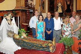 Llit de la Mare de Déu en Nuestra Señora de la Merced
