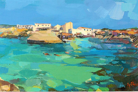 Formentera entre Sorolla, el impresionismo y el diseño gráfico