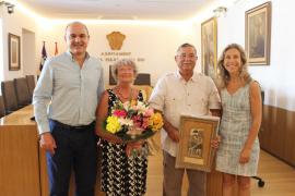 Reconocimiento a 60 años de fidelidad a Santa Eulària