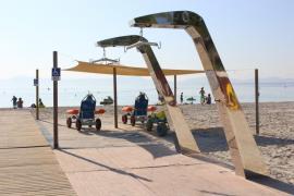 La playa de Alcúdia, pionera en accesibilidad