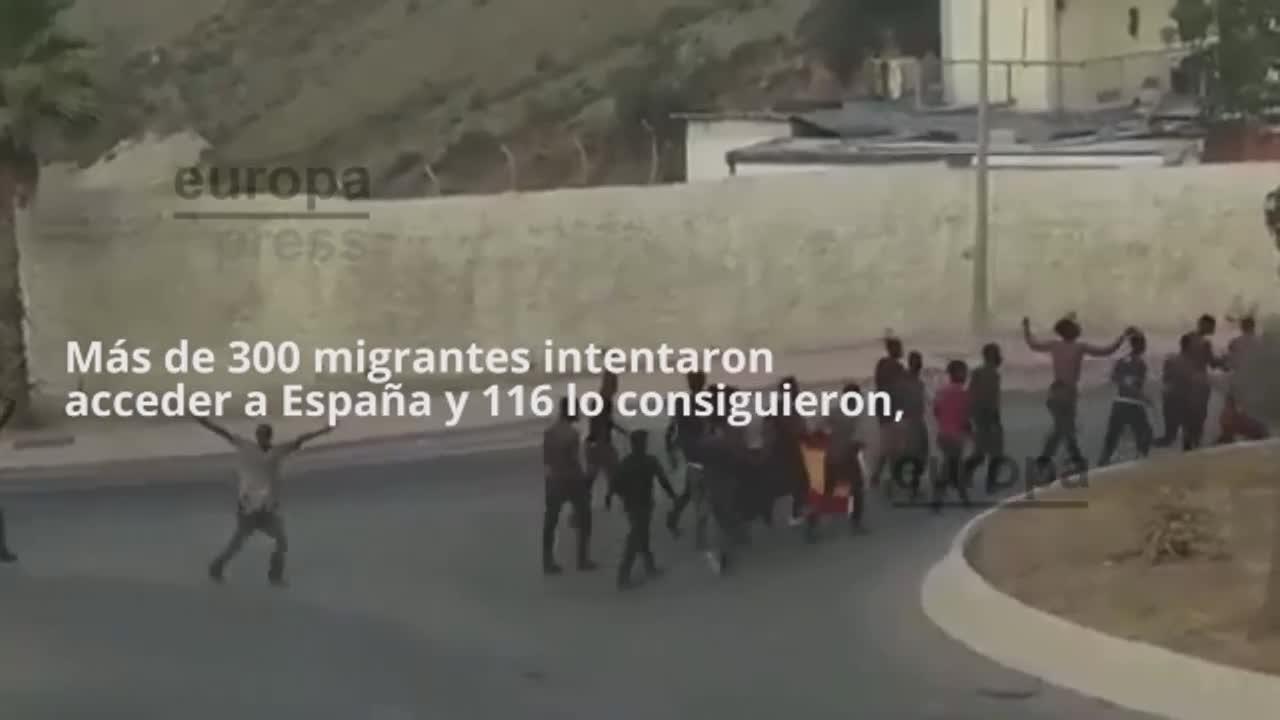 El Gobierno devuelve a Marruecos a todos los migrantes que saltaron la valla de Ceuta el miércoles