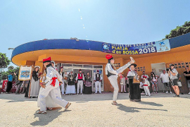 Platja d'en Bossa celebra sus fiestas tras tres años de parón