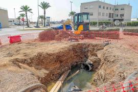 Abaqua concluye la reparación de la tubería que vertía fecales en el puerto de Ibiza
