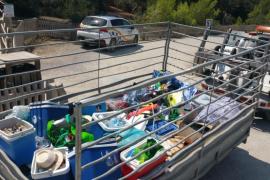 Dos operativos en Vila y Sant Josep interponen más de 40 denuncias por «venta ambulante»