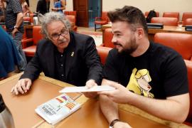 Joan Tardà y Gabriel Rufián