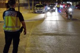 Seis conductores, uno de ellos taxista, dan positivo en drogas en un control en Ibiza