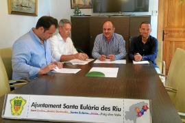 Santa Eulària firma un acuerdo para reducir trámites y agilizar obras menores
