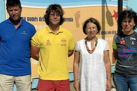 Vila presenta la quinta edición del programa medioambiental 'Una platja per a tothom'