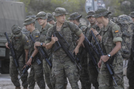 Militares para prevenir incendios en Baleares