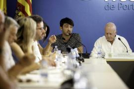 El pleno del Ayuntamiento de Sant Antoni, en imágenes (Fotos: Daniel Espinosa).