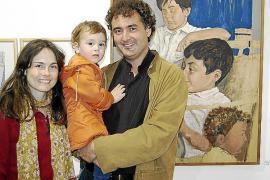 Joan Lacomba presenta sus retratos en Inca