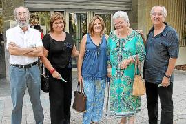 Tomeu Oliver, Assumpció Hernàndez, Antònia Rubio, Catalina Tous y Manuel García.