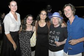 Mary Lambourne enamora con su música en Son Jaumell