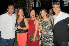 Josep Ramón, Neus Sureda, Silvia Mascaró, Marga Almarcha y José Luis Martí.