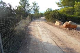 Sant Josep finaliza el acondicionamiento del camino de Can Guimó
