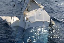 Permanecen en la UCI los dos heridos graves en el accidente de un barco en sa Torreta
