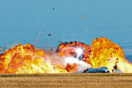 Salen a la luz fotografías inéditas del accidente del A400M usadas en la investigación judicial