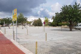 Santa Eulària pone en servicio el aparcamiento gratuito situado a la entrada de es Puig d'en Valls