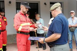 Reconocimiento a la Unidad Militar de Emergencias por su labor contra los incendios
