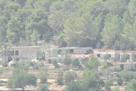 Vecinos de es Fornàs denuncian el «impacto medioambiental» de unas obras en zona ANEI