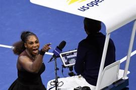 Serena Williams: «Nunca se le quitó un juego a un hombre por llamar ladrón a un juez de silla»