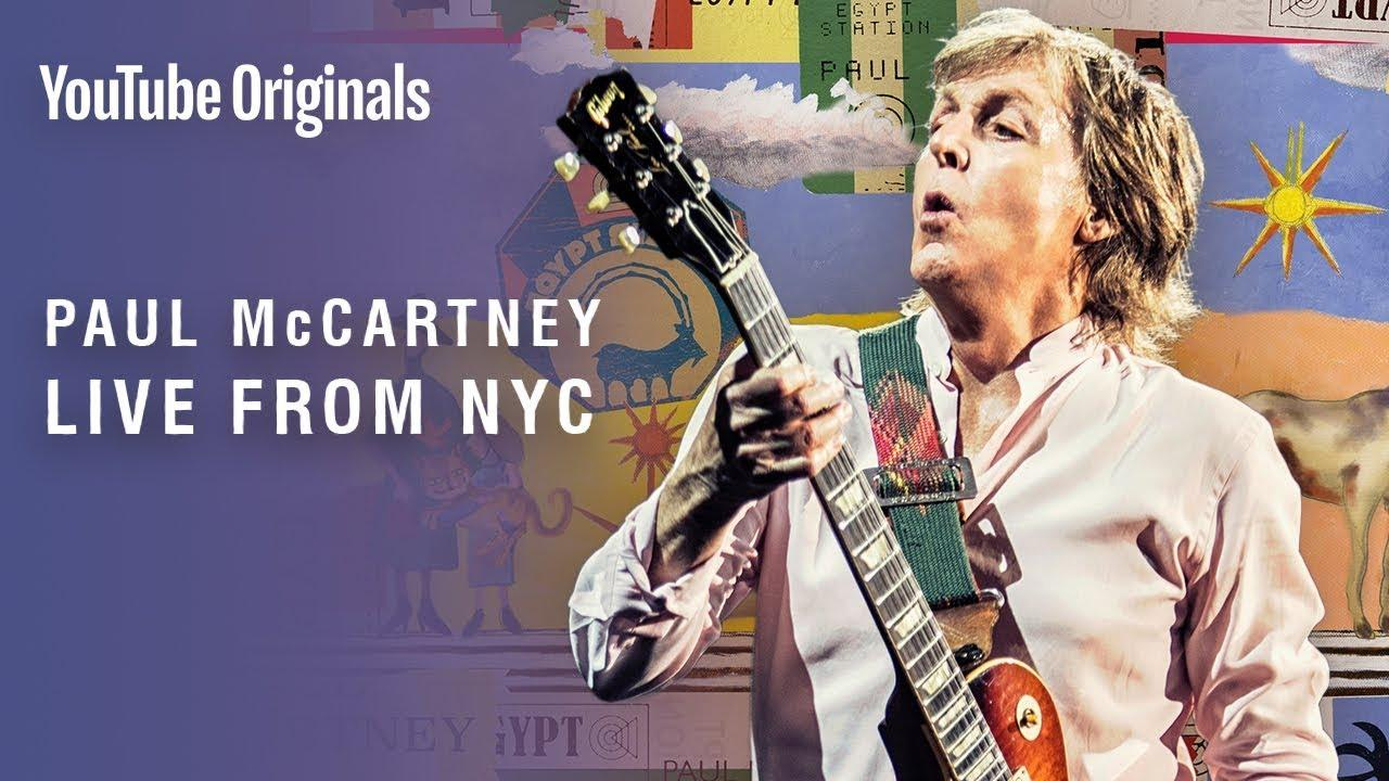 Paul McCartney da un concierto sorpresa en la Grand Central Station de Nueva York