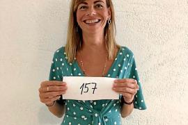La consellera Lydia Jurado se presenta al castin de una película