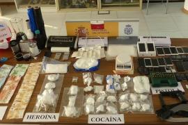 Droga incautada en Ibiza