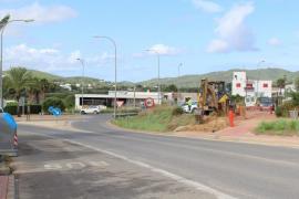 Santa Eulària inicia las obras para el embellecimiento del acceso al barrio de Can Guasch