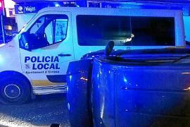 Un conductor cuadruplica la tasa de alcohol después de sufrir un accidente en Vila