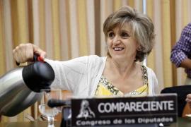 María Luisa Carcedo comparece ante la Comisión de Derechos de la Infancia y Adolescencia del Congres