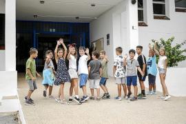 El colegio Sant Carles estrena nuevo curso con un aspecto renovado