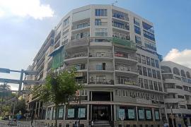 Cazado 'in fraganti' un ladrón tras trepar por la fachada de un edificio del centro de Vila