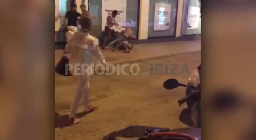 Un robo con violencia origina una pelea entre víctimas y asaltantes en Sant Antoni