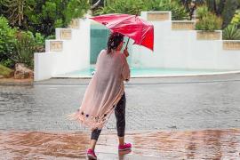 El temporal deja numerosos incidentes en Sant Josep y Sant Antoni