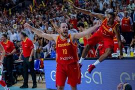 España salva el susto ante Letonia y acaricia el billete para el Mundial