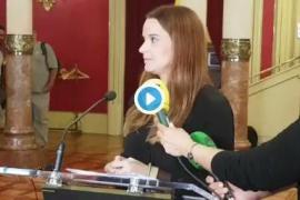 El PP acusa de «autoplagio» a Armengol en su discurso inaugural