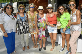 Josi Hernansaez, Ana Bou, Toya González, Catalina Barbosa, Margalida González, Teodora González y Neus Bou.