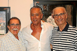 Tolo Albertí, Pascual de Cabo y Tomeu Vives.