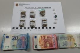 Detenido un hombre que fue sorprendido vendiendo drogas en Sant Antoni