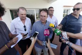 Sant Josep asume la responsabilidad y dice que los vertidos provienen de Sant Jordi y la zona del aeropuerto