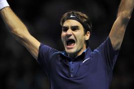 Federer recupera el número tres  con su sexto título de 'maestro'