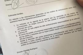 """El IES Sa Colomina se disculpa y la editorial """"insulta"""" a Actúa por su labor"""