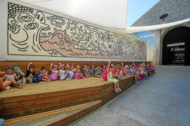 La Nave Salinas volverá a acercar el arte a los escolares de Ibiza