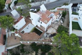 Sant Josep precinta la Casa Van der Driesche y suspende su demolición
