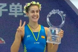 Carolina Marín se proclama campeona del Abierto de China