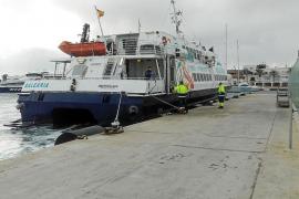 Gent per Formentera pide mejorar las conexiones marítimas en invierno