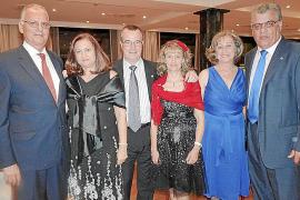Cena de gala de la asociación Llaves de Oro de conserjes de hoteles